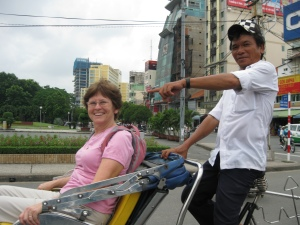 Bycycle Rickshaw