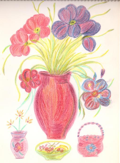 MW Flowers in Vase